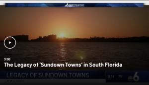 Sundown Towns South Florida